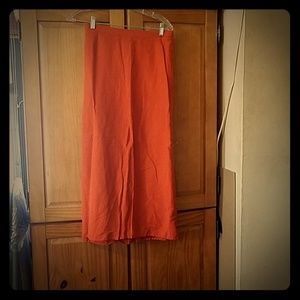 Rust colored skirt